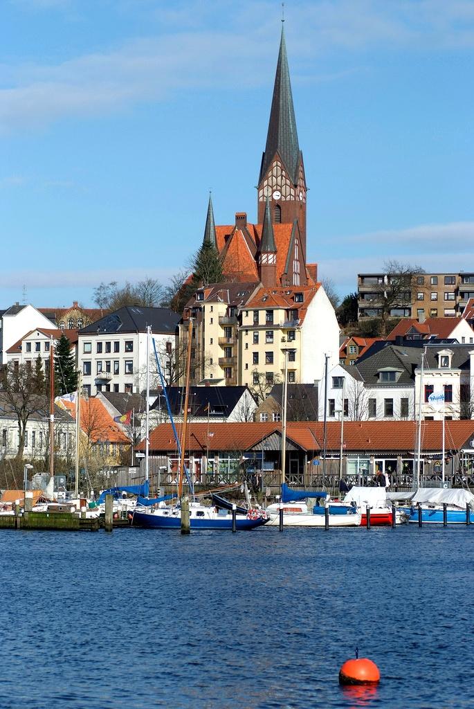 Hafen in #Flensburg, Schleswig-Holstein; Übernachtungen zu Ostern ab 65€/Nacht/Zimmer; Foto: arne.list, Lizenz: CC-BY-SA-2.0 (http://creativecommons.org/licenses/by-sa/2.0/), Buchung: http://www.easyvoyage.de/hotels/flensburg/prodomo-hotel-flensburg-110770