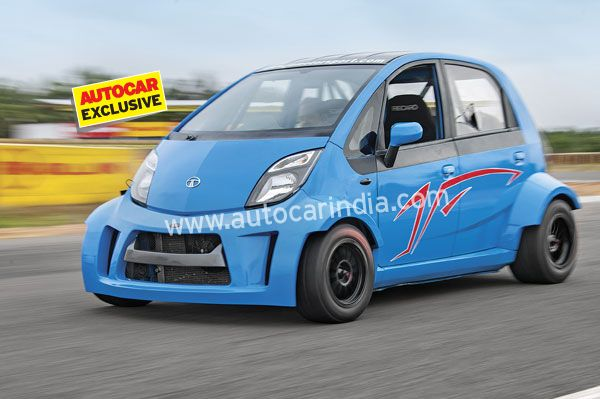 The Super Nano has a 200-odd bhp superbike engine in the rear, an appropriate braking and suspension system and tonnes and tonnes of attitude.