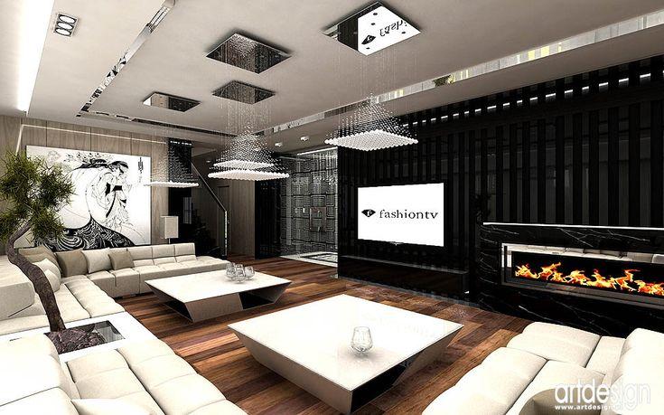 oryginalne luksusowe ekskluzywne wnetrza apartamentow
