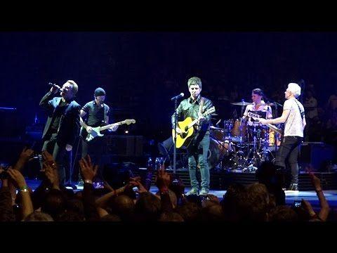Oasis Worldwide Fan Club: U2 ft. Noel Gallagher - London 2015