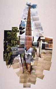 David Hockney-Telephone Pole