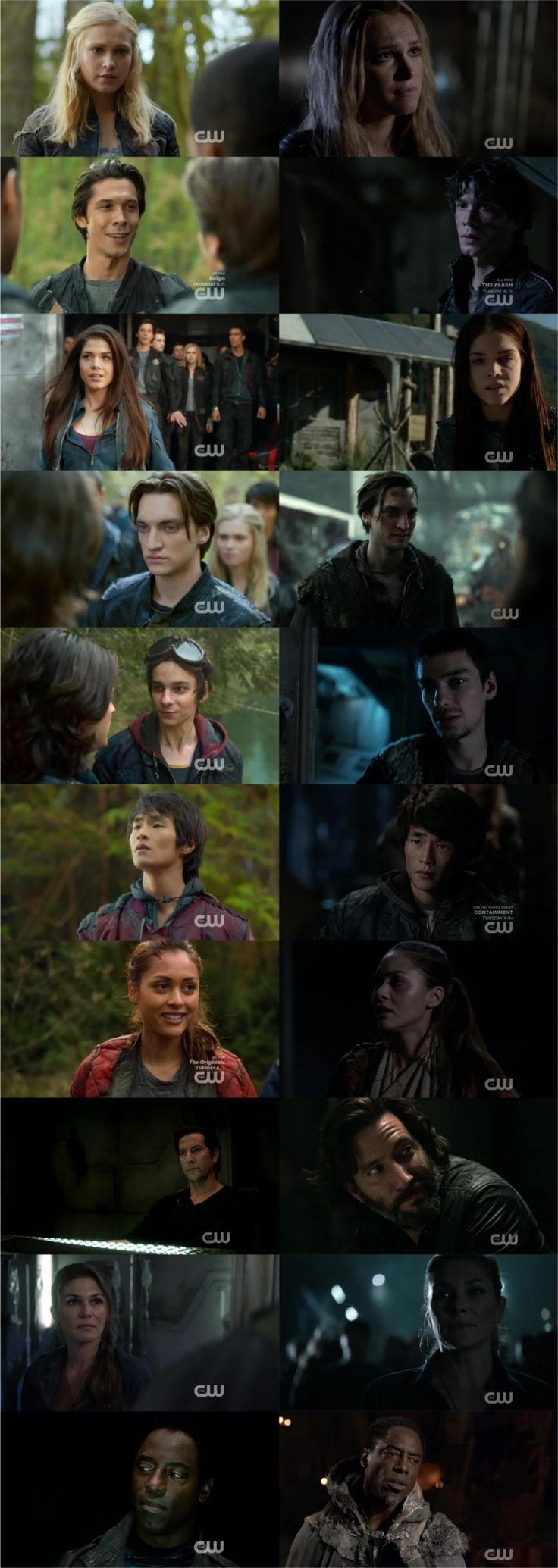 #The100 Season 1 & Season 3