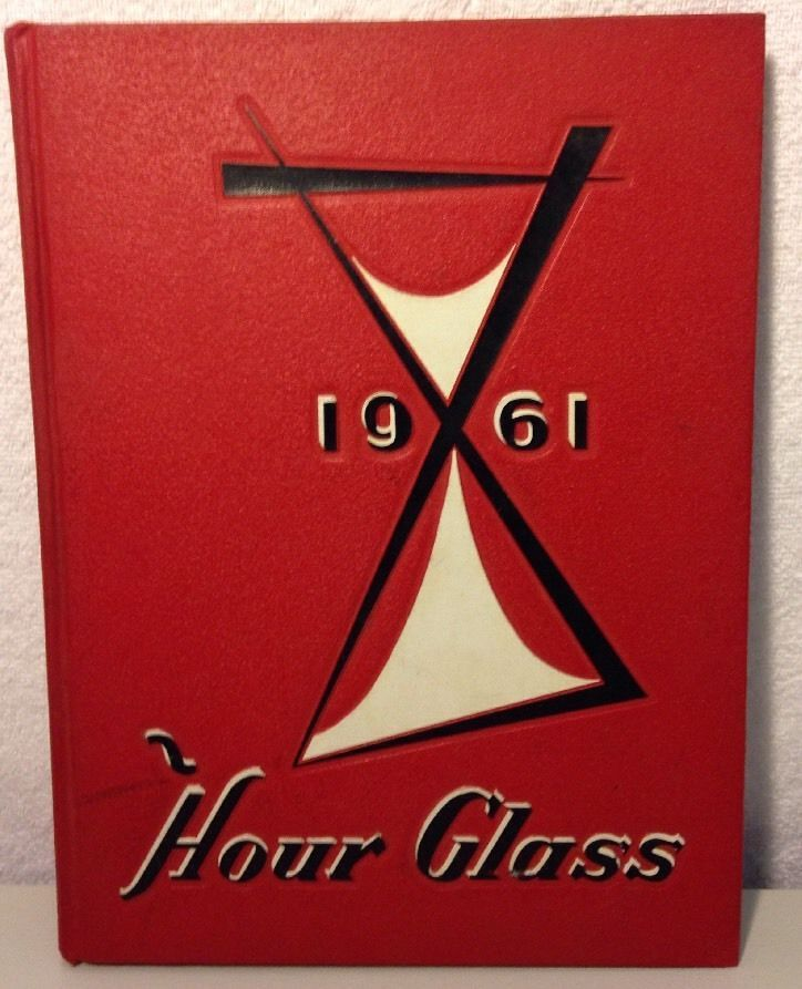 Hour Glass Anniston High School Yearbook 1961 Alabama - Named Owner