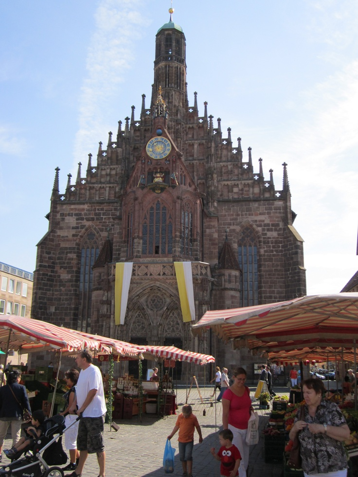 Perfect St Lorenz Church Nurnberg Germany August