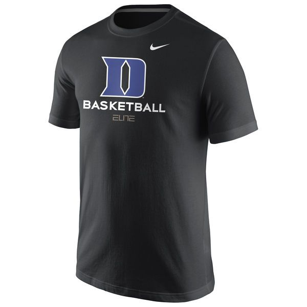 Duke Blue Devils Nike University Basketball T-Shirt - Black - $25.99
