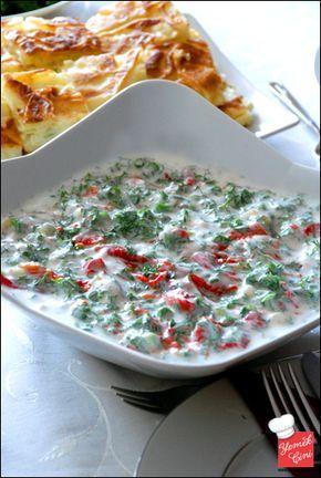 Sirkeli & Yoğurtlu Köz Biber Salatası