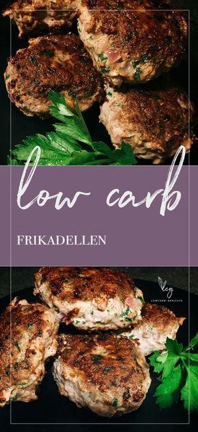 Leckere kohlenhydratarme Fleischbällchen ohne Semmelbrösel oder Brötchen. Trotzdem lo …   – Low Carb