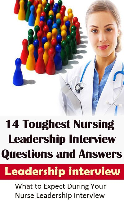 14 Sample Nursing Leadership Interview Questions With Answer Guide