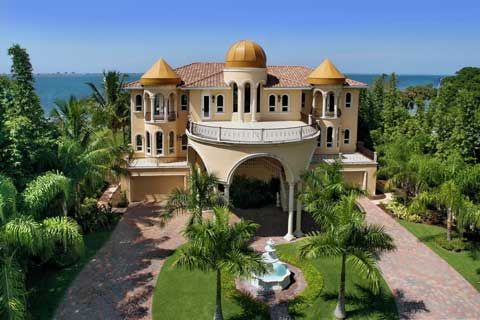 Balconies Palaces Castles Luxury Dreams Home Sarasota Florida