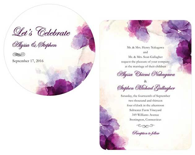 Wedding Paper Divas now offers personalized drink coasters that match your weddings stationery suite. Our custom drink coasters add a chic personalized touch to parties, cocktail hours and receptions. Made of durable coaster board, these have a matte finish and can be reused several times. #wedding #parties