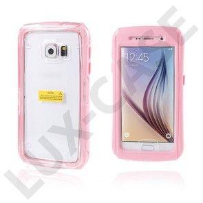 Samsung Galaxy S6 Vandtæt Cover - Pink