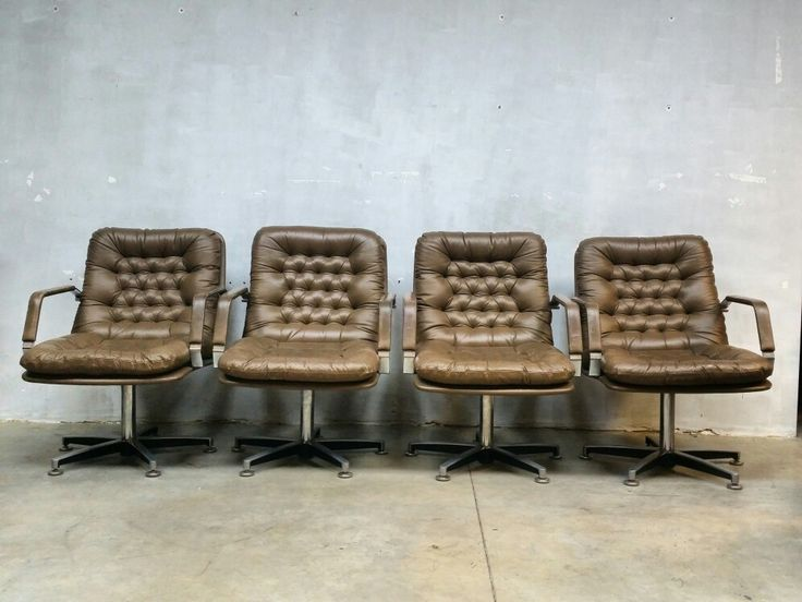 Unique midcentury design office lounge chairs,  soon online www.bestwelhip.nl