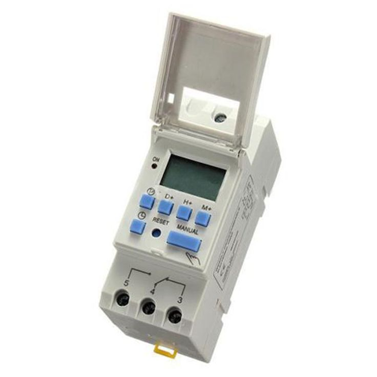$7.65 (Buy here: https://alitems.com/g/1e8d114494ebda23ff8b16525dc3e8/?i=5&ulp=https%3A%2F%2Fwww.aliexpress.com%2Fitem%2FLHLL-DIN-Rail-Time-Relay-Switch-Digital-LCD-Power-Programmable-Timer-DC-12V-16A%2F32722171788.html ) LHLL-DIN Rail Time Relay Switch Digital LCD Power Programmable Timer DC 12V 16A for just $7.65