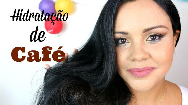Hidratacão de Café que Faz o cabelo crescer MUITO mais rápido