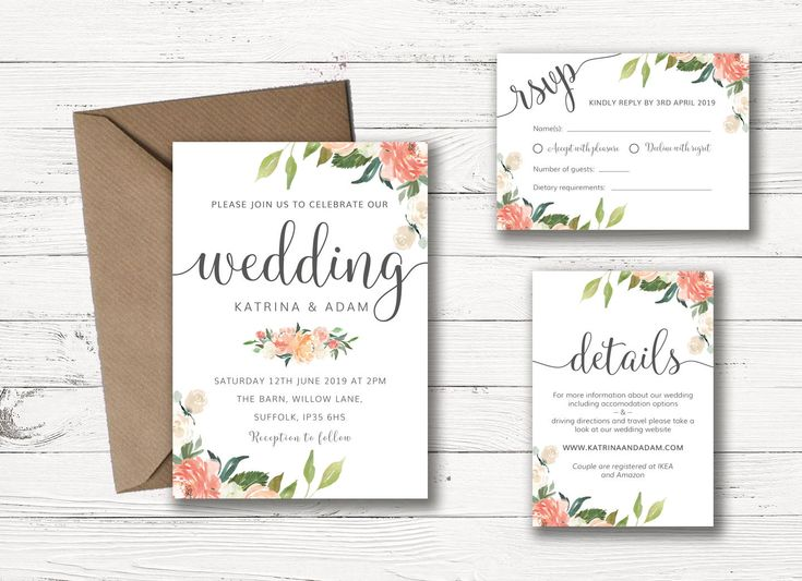 Excited to share the latest addition to my #etsy shop: Wedding Invitation Printable | Floral Wedding Invitation Set | Wedding Invitation Template | Wedding Invitation Suite | Wedding Invitations http://etsy.me/2mOLEXP #weddings #invitation #weddinginvitation #printableinvitation #WeddingInspo #DIYWeddingInvites #PrintableWeddingInvites #FloralWeddingInvites