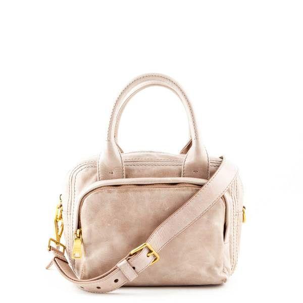 Prada Blush Vitello Shine Satchel Bag Love That Bag Preowned
