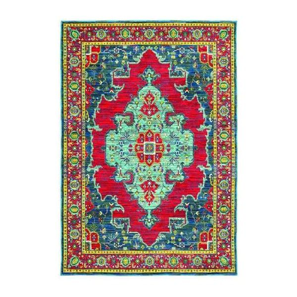 Oriental Weaversjoli1331 Rug 215 Ron Liked On Polyvore Featuring Home Rugs