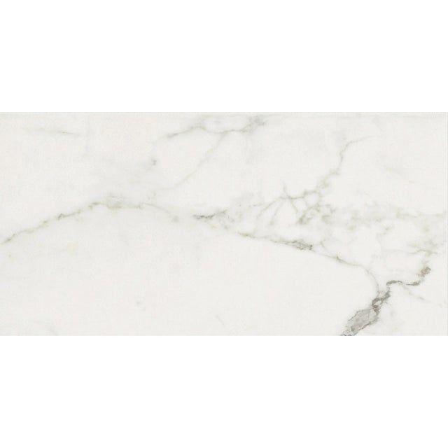 Carrelage Sol Mur Intenso Marbre Blanc Rimini L 30xl 60 Cm Cerim