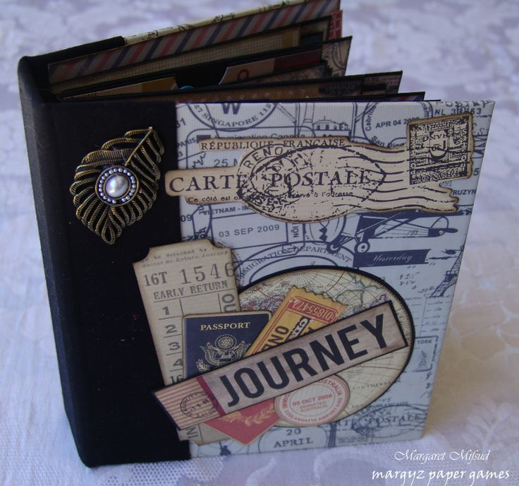 Mini Albums: Includes pictures of all inside pages