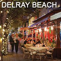Delray Beach, Florida Atlantic Ave Night Life! FloridaStyleLiving.com