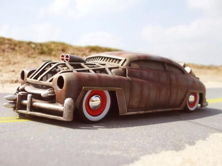 Pit this beast up against Mad Max's Interceptor