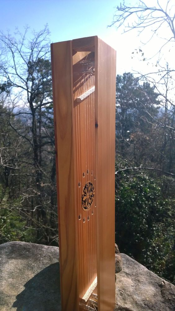 aeolian wind harp wave sound let the winds play a melody