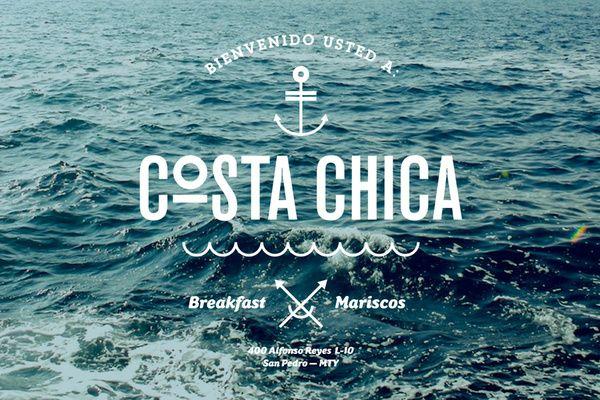 COSTA CHICA by SAVVY STUDIO, via Behance