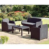 buy allibert carolina garden set seats graphite grey from our all garden furniture range at tesco direct we stock a great range of products at everyday