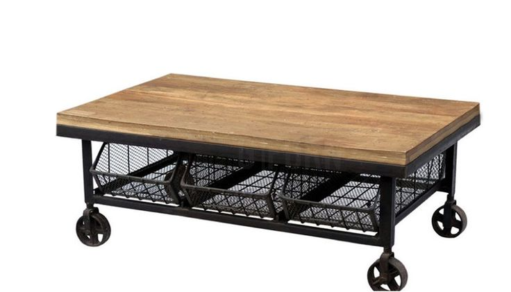 122 best bar flower serving or tea cart images on for Industrial farmhouse coffee table