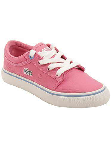 Lacoste Toddler Vaultstar PPG Sneakers in Pink 1 W US >>> Check out this great product.(This is an Amazon affiliate link and I receive a commission for the sales)