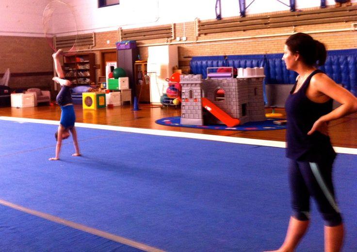 Olympic Level Training at Illinois Rhythmic Gymnastics Center {Highland Park}