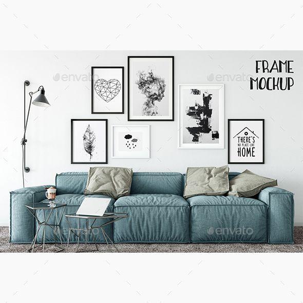 Scandinavian Frame Mockup_11 - Product Mock-Ups Graphics