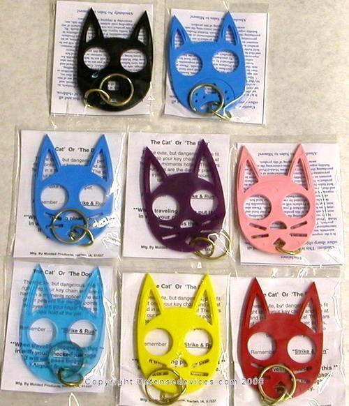 Need one! Cat self defense keychain, Self defense