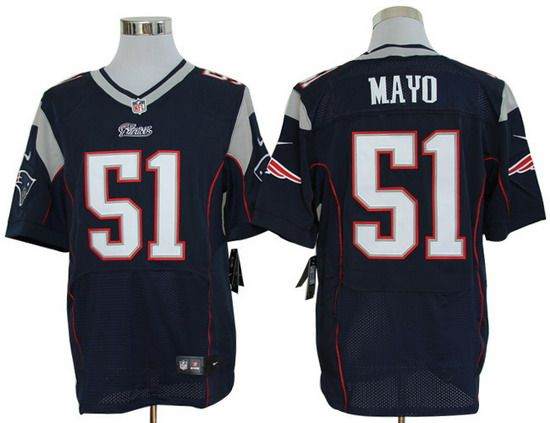 a3a155575 Nfl ApparelNike NflNike FootballNew England Nike Patriots 51 Jerod Mayo  Blue Team Color Mens NFL Elite Jersey And J.J. Watt .