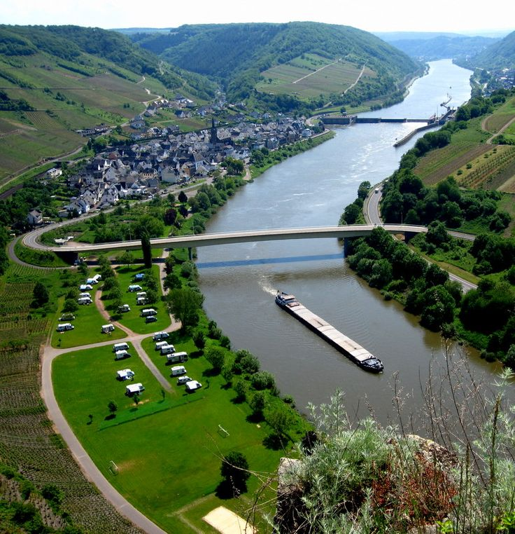 Neef, Germany on the Mosel River.  Wine Country