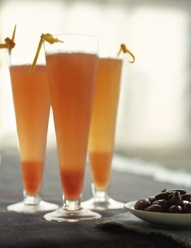 Five Orange Cocktails for Halloween: Clementine and Campari (shown)