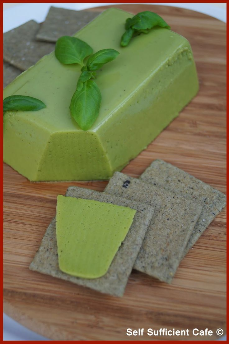 """Self Sufficient Cafe: Broad Bean """"Cheese"""" & Olive Crackers"""