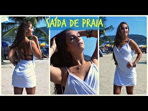 "DIY: Customização - ""SAÍDA DE PRAIA"" por Elisa Bighetti - YouTube"