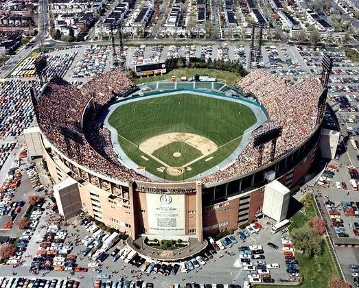 Memorial Stadium  Baltimore, MD    -Tenants: Baltimore Orioles (MLB), Baltimore Colts & Ravens (NFL)  -Capacity: 20,000 (original), 54,000 (final)  -Surface: Grass  -Cost: $6.5 Million  -Opened: April 15, 1954 (MLB)  -Closed: September 30, 1991 (MLB)  -Demolished: February 2001  -Dimensions: 309-L, 410-C, 309-R (original) 309-L, 405-C, 309-R (final)  -Architect: Kooken Company