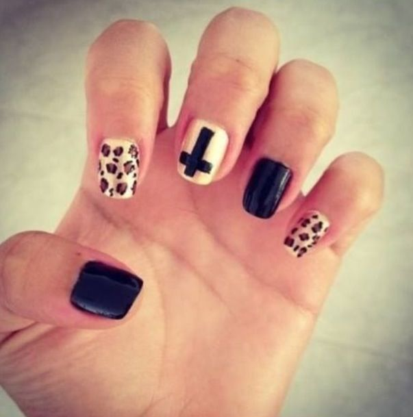17 Best images about Cheetah Print Nail Designs on ...