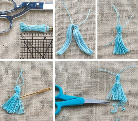 Tassel DIY with Sewing 101 teacher Theresa Gonzalez!