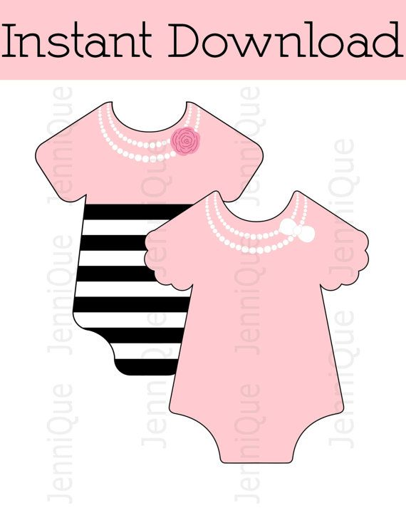 12 best Printable Onesies images on Pinterest Babies clothes - onesie template