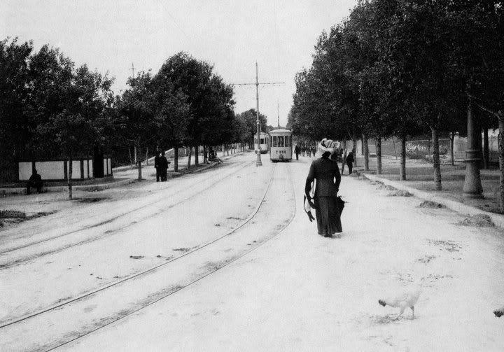 Alexandras Av. 1910, Athens, #solebike, #Athens, #e-bike tours