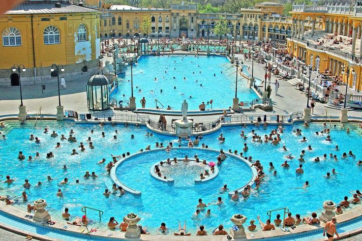 The Széchenyi Bath is largest thermal spring bath complex not only in Budapest, but in whole Europe. It's also the first thermal bath of Pest. Travel with Tourboks!