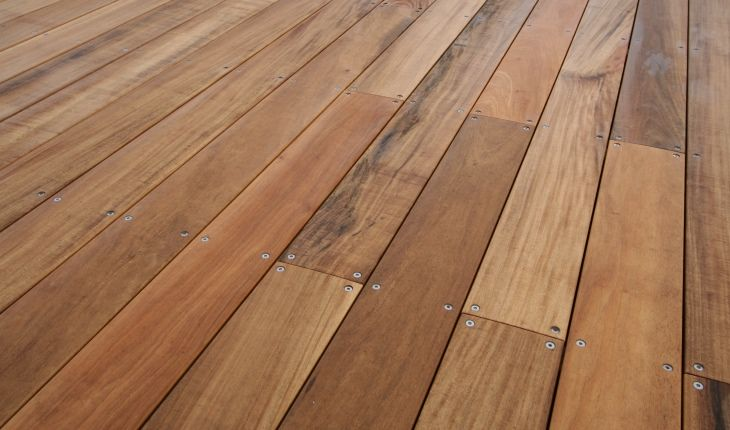 Vitex 140mm x 21mm Watershed Decking Machinecoated in Wood-X Clear Base