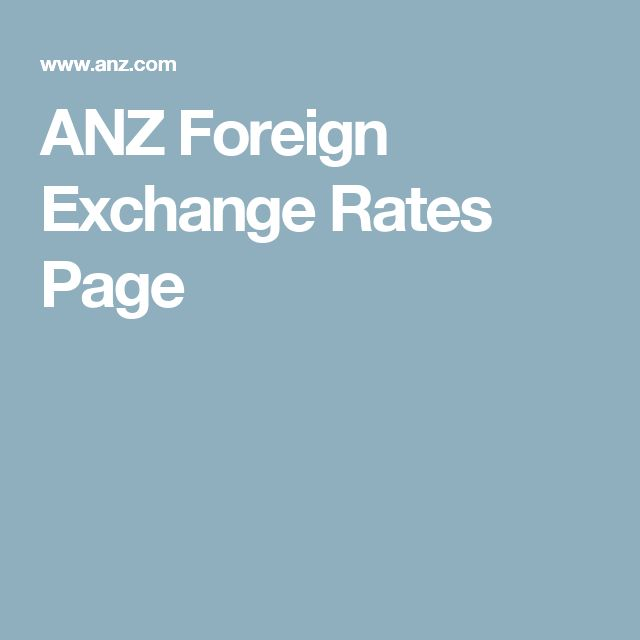 Nzforex exchange rates