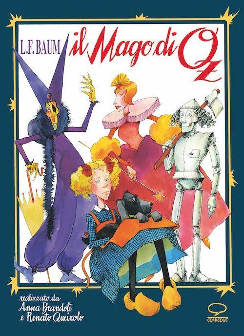 Copertina de 'il Mago di Oz', nella riedizione Comic Out