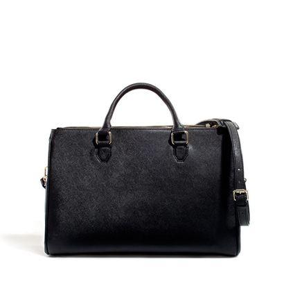 Elegancka torba - kuferek - Zara