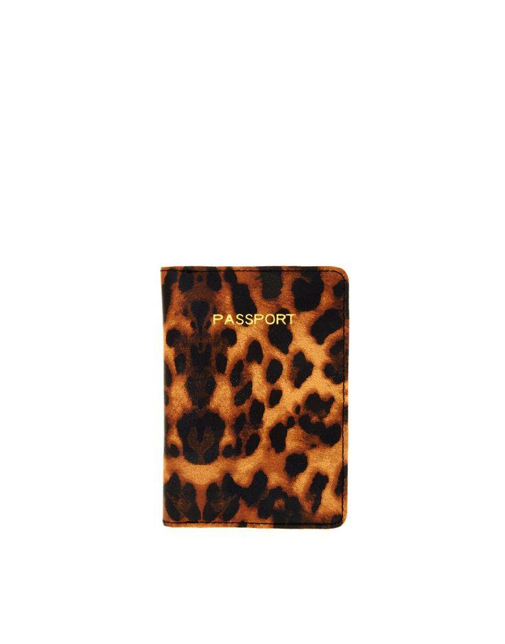 ASOS Passport Holder: Passport Covers, Gift, Fashion, Passport Holders, Leopards Prints, Animal Prints, Passport Cases, Asos Passport, Leopards Passport