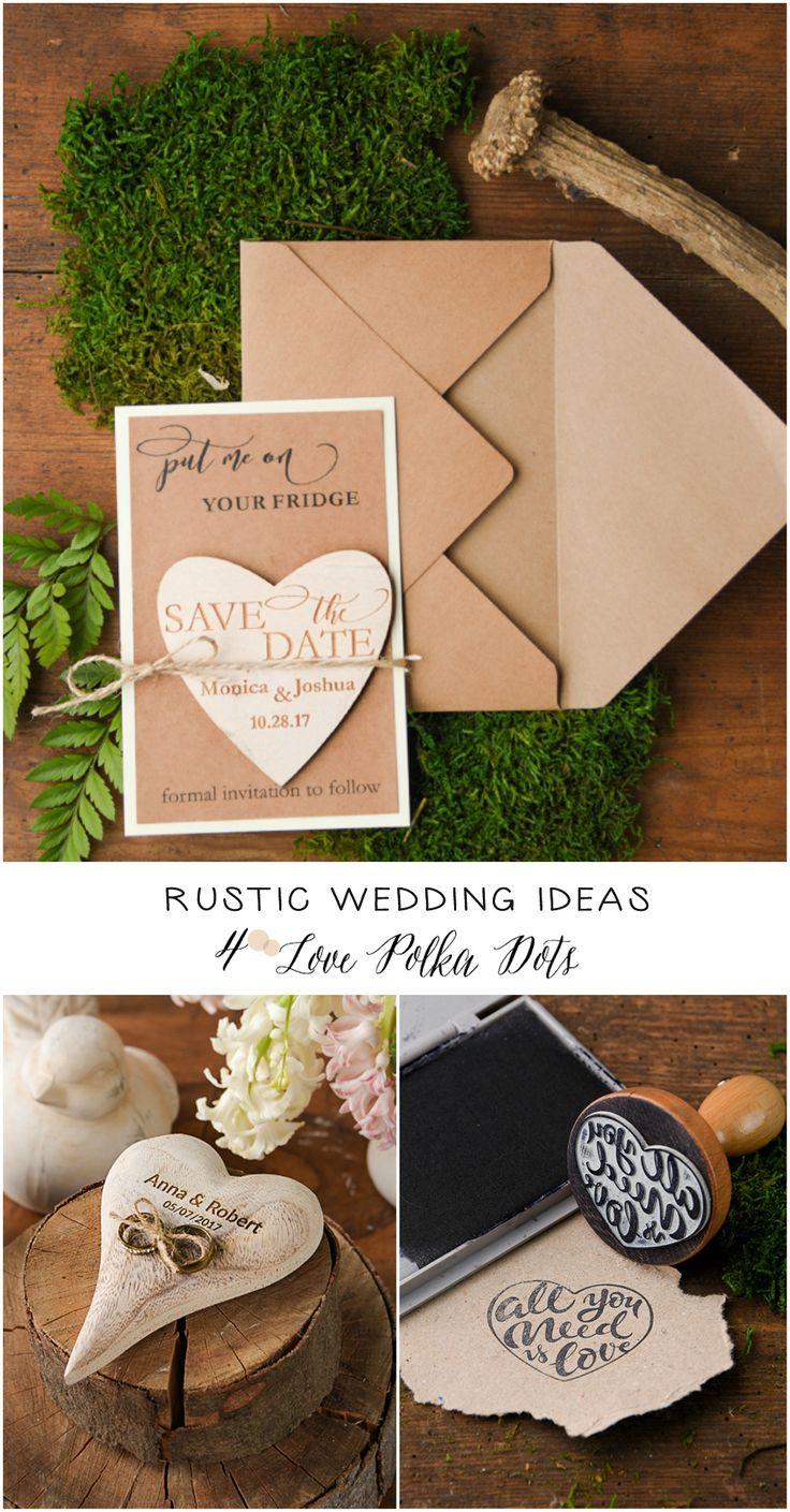 Rustic Wedding Ideas From 4lovepolkadots Love Heart